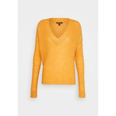 エスプリ ニット&セーター レディース アウター Jumper - honey yellow