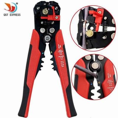 ケーブル ワイヤー ストリッパー カッター クリンパー 自動 多機能 圧着 ストリップ プライヤー ハンド 操作する ツール