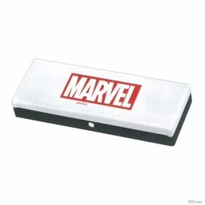 マーベル<MARVEL> プラスチックペンケース ホワイト×ブラック 46829 【disneyzone】