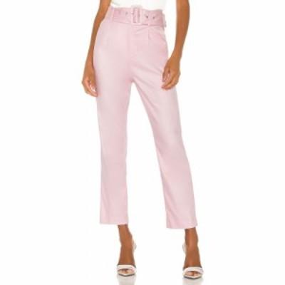 カミラ コエーリョ Camila Coelho レディース ボトムス・パンツ Quinn Trouser Pink Lemonade