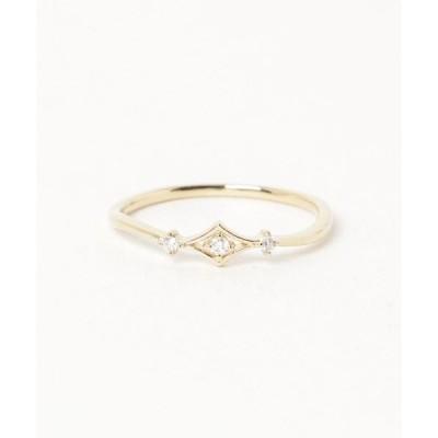 指輪 K18ダイヤリング