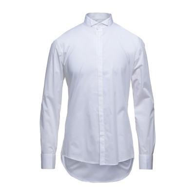グレイ ダニエレ アレッサンドリーニ GREY DANIELE ALESSANDRINI シャツ ホワイト 41 コットン 97% / ポリウレタン