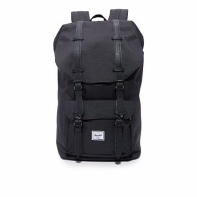 ハーシェル サプライ Herschel Supply Co. メンズ バックパック・リュック バッグ Little America Classic Backpack Black/Black