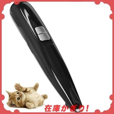 LONGMADAペット用バリカン 電動 犬 猫 LEDライト搭載 部分用バリカン 足裏 耳裏 顔回り お尻 2段階スピード調整 USB