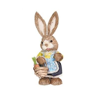 Easter Decoration Artificial Rattan Bunny Wreat Outdoor Indoor Hanging Wrea
