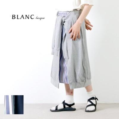 【60% OFF】blanc basque (ブランバスク) 裏毛×ストライプスカート