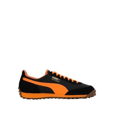 プーマ PUMA スニーカー&テニスシューズ(ローカット) ブラック 6 革 / 紡績繊維 スニーカー&テニスシューズ(ローカット)