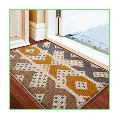 Color&Geometry ドアマット 屋外屋内用 防水 ノンスリップ 洗濯可能 素早く湿気を吸収 汚