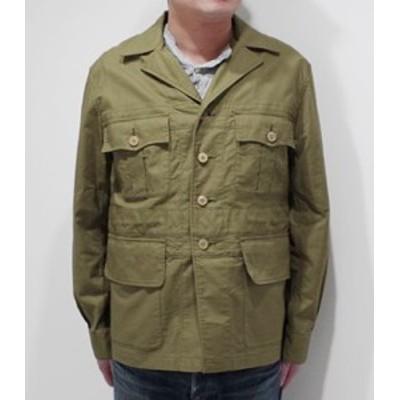 Soundman サウンドマン パナマクロス|サファリ|ブッシュジャケット『Whitby Bush Jacket』【アメカジ・ミリタリー】643M-906N