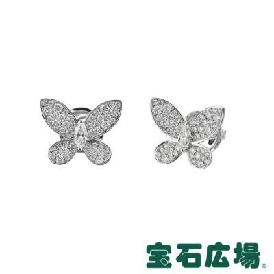 グラフ GRAFF パヴェ バタフライ マーキスダイヤ・ダイヤ ピアス (ミニ) RGE1152 新品  ジュエリー