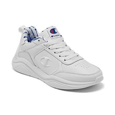 チャンピオン レディース スニーカー シューズ Women's Next Emboss Casual Athletic Sneakers from Finish Line White