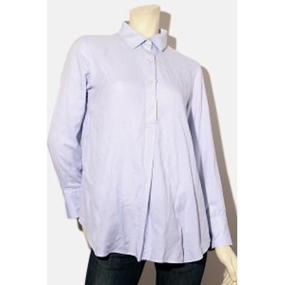 【中古】Canclini For 23区 オンワード樫山 シャーティング チュニックシャツ ブラウス プルオーバー トップス  40