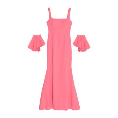 SOANI ロングワンピース&ドレス ピンク 44 ポリエステル 100% ロングワンピース&ドレス