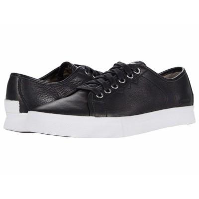 ソレル スニーカー シューズ メンズ Caribou Low Waterproof Sneaker Black/White
