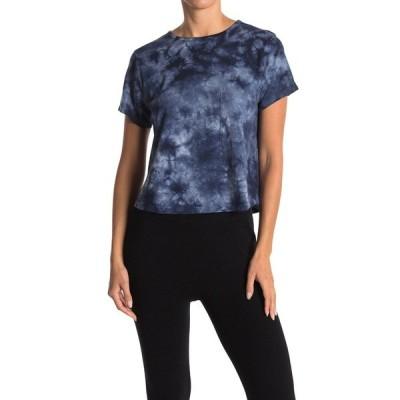 スレッズ・フォー・ソート レディース Tシャツ トップス Maggie Crop Cloud Wash T-Shirt BLUMU