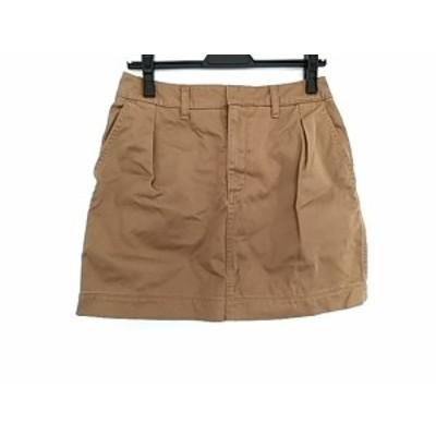 シンゾーン Shinzone ミニスカート サイズ38 M レディース 美品 ライトブラウン【中古】