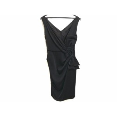 ダイアグラム Diagram GRACE CONTINENTAL ドレス サイズ34 S レディース 美品 - 黒 ノースリーブ/ロング【還元祭対象】【中古】20200908