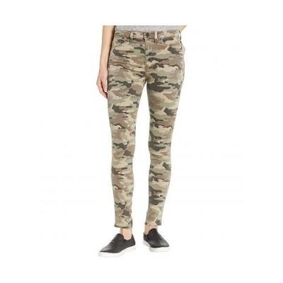 Hudson Jeans ハドソン ジーンズ レディース 女性用 ファッション ジーンズ デニム Barbara High-Waist Super Skinny Ankle in Worn Camo - Worn Camo