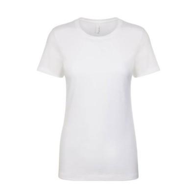 レディース 衣類 トップス Next Level Women's 1x1 Rib Collar Tear Away label Jersey T-Shirt Style NL1510 Tシャツ