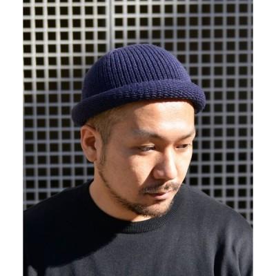 帽子 キャップ QUARTER GALLERY ロールアップニットワッチ