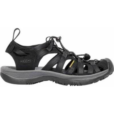 キーン レディース サンダル シューズ KEEN Women's Whisper Sandals Black/Magnet