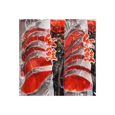 根室市 ふるさと納税 甘塩紅鮭5切×5P (計25切) A-70019