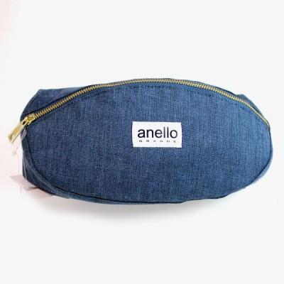 アネロ グランデ anello GRANDE GU-A0913 クラッシック杢調ポリエステル ウエストバッグ レディースバッグ メンズバッグ ボディバッグ