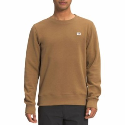 ザ ノースフェイス The North Face メンズ Tシャツ トップス Heritage Patch Crew T-shirt Utility Brown
