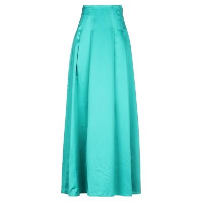 レリッシュ RELISH ロングスカート グリーン 40 ポリエステル 100% ロングスカート