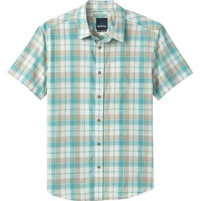 プラーナ Prana メンズ 半袖シャツ トップス Benton Shirt Azurite