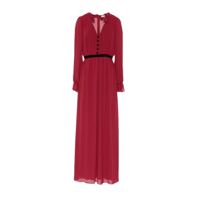 NINA 14.7 ロングワンピース&ドレス レッド 38 100% ポリエステル ロングワンピース&ドレス
