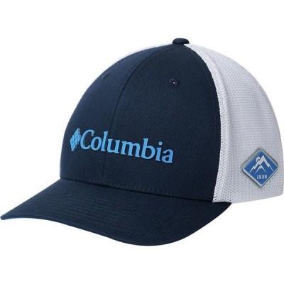 コロンビア 帽子 メンズ アクセサリー Mesh Baseball Hat - Men's Collegiate Navy/White
