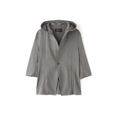 【トルネードマート】 TORNADO MART∴扇エンボスフードジャケット メンズ グレー5 L TORNADO MART