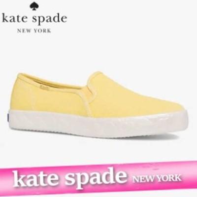 ケイトスペード x ケッズ スニーカー シューズ レディース ウィメンズ ラブル デッカー ロゴ フォクシング キャンバス 靴 新作 WF65109