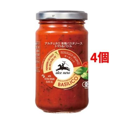 アルチェネロ 有機パスタソース トマト&バジル ( 200g*4個セット )/ アルチェネロ