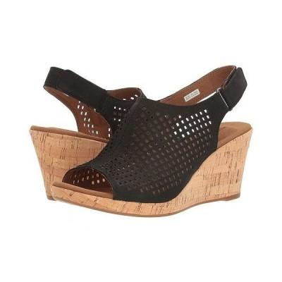 Rockport ロックポート レディース 女性用 シューズ 靴 ヒール Briah Perf Sling - Black Nubuck