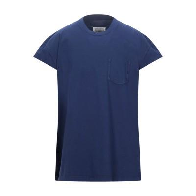 メゾン マルジェラ MAISON MARGIELA T シャツ ブルー 44 コットン 100% T シャツ