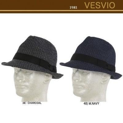 ベスビオ(VESVIO)サマーフェラドーハット 121509304