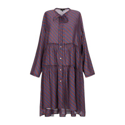 JEJIA ミニワンピース&ドレス ブルー 42 シルク 100% ミニワンピース&ドレス