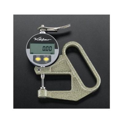 エスコ 0-10mm/0.01デジタルシクネスゲージ EA725A-51