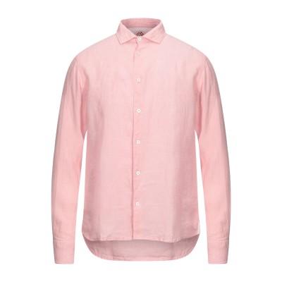 FRADI シャツ ピンク 40 リネン 100% シャツ