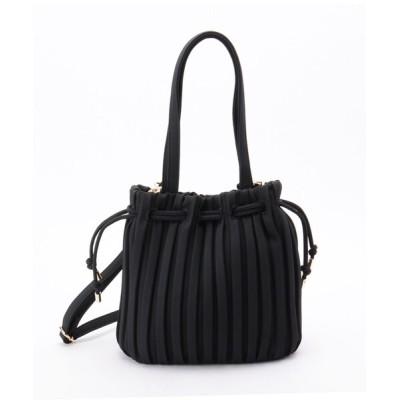 SHOO・LA・RUE / 2WAYプリーツ巾着バッグ WOMEN バッグ > ショルダーバッグ