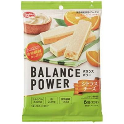 ハマダコンフェクト  バランスパワー シトラスチーズ 2本×6袋入