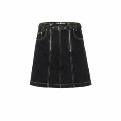 プロエンザ スクーラー Proenza Schouler レディース ミニスカート スカート Denim miniskirt Dark Clean