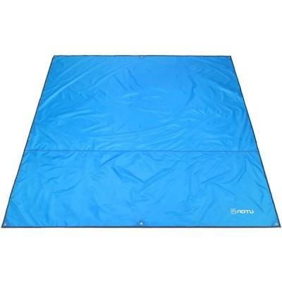 Azarxis レジャーシート ピクニックマット キャンプマット 日よけテント 天幕 軽量 折り畳み 防水 420Dオックスフォード グランドシート