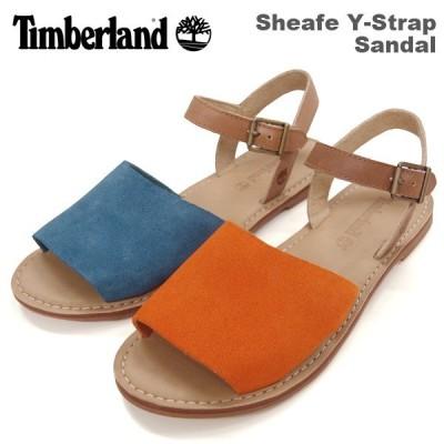 ティンバーランド レディース カジュアル シューズ Timberland A14W4 A14W9 Sheafe Y-Strap Sandal シーフ ワイストラップ サンダル