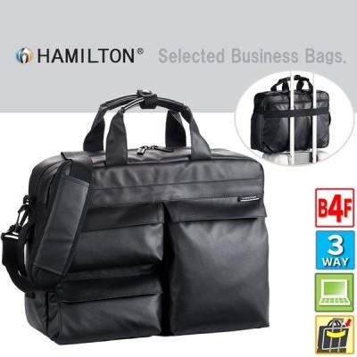 リュックサック 2way 3way 大型 大容量 ビジネス リュック メンズ リュックサック 出張 旅行鞄 2泊 通勤 pc対応 HAMILTON b4 B4 黒 ブラック 在庫処分