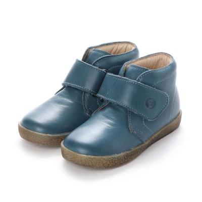 ヨーロッパコンフォートシューズ EU Comfort Shoes Narurino  ベビーハイカットスニーカー (ネイビー)