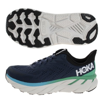 HOKA ONE ONEシューズ クリフトン7 ワイド 1110534-MOAN ジョギングネイビー
