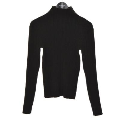 LE CIEL BLEU 20AW Randam Rib Knit リブニット ブラック サイズ:36 (堀江店) 210206
